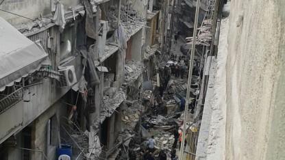 Priserne stiger i Aleppo, og der mangler vand, el og brændstof