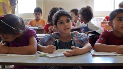 Syriens flygtningebørn har desperat brug for skolegang nu