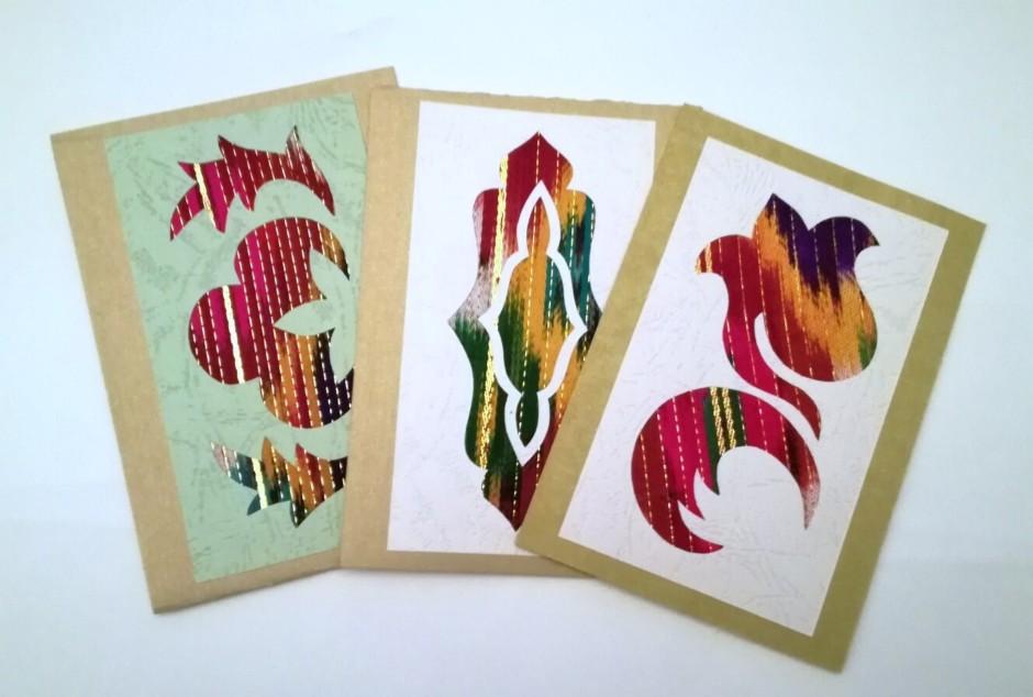 Håndlavede kort (snemand)