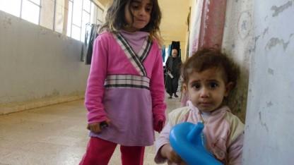 Usædvanlig hård vinter i Syrien netop nu