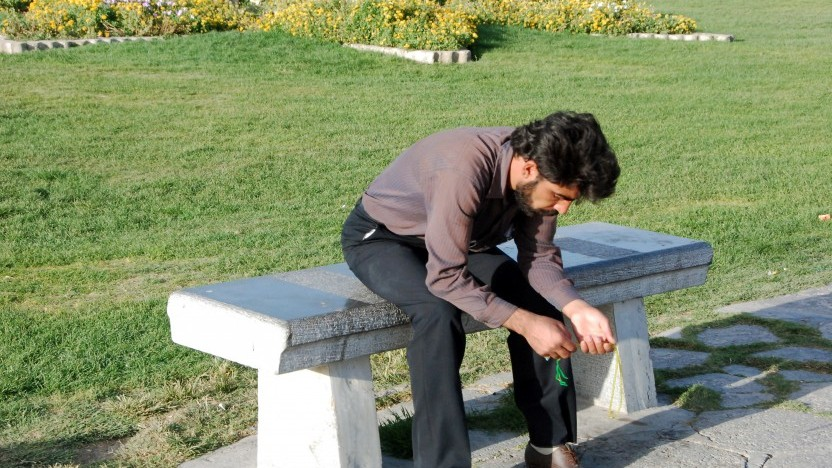 Jesus mødte den iranske narkoman Yousef