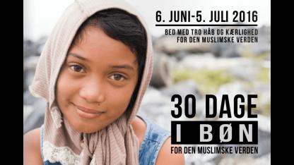 30 dage i bøn for den muslimske verden