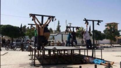 En bøn på vegne af ofrene for IS barbari