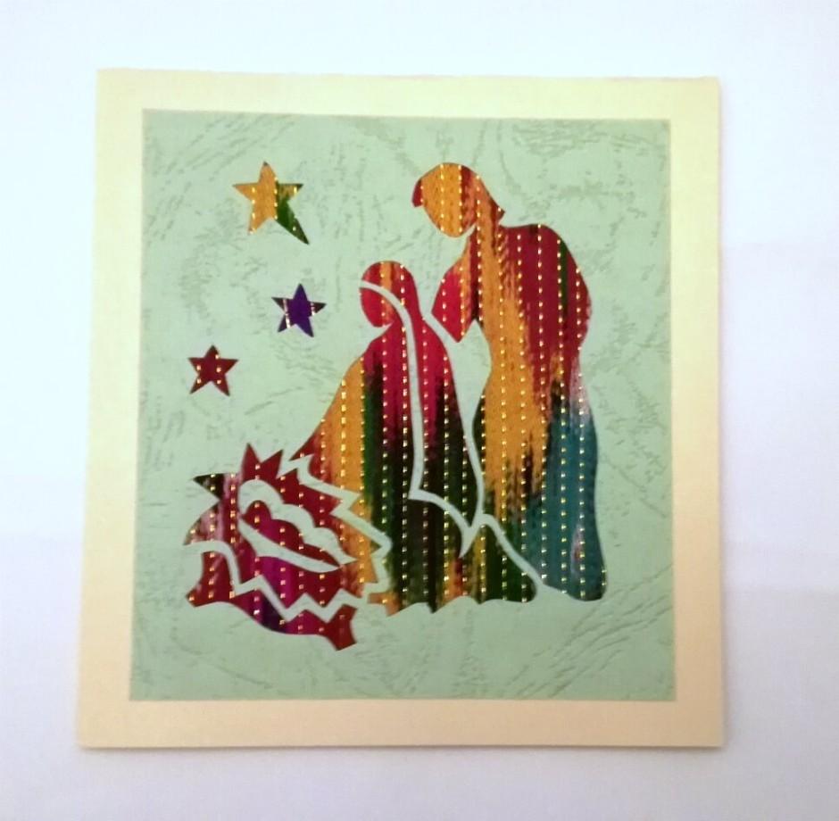 Håndlavede julekort