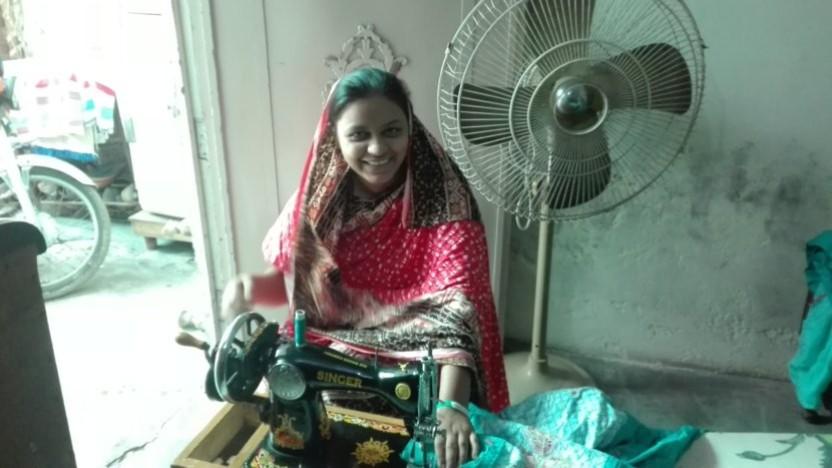 Kristne Naila fra Pakistan er blev løftet ud af fattigdommen