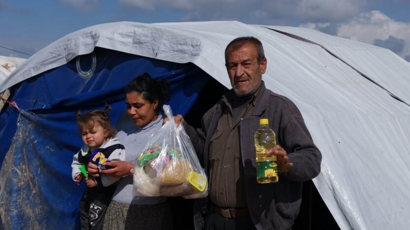 Lokale kristne giver nødhjælp til udsatte i Syrien denne vinter