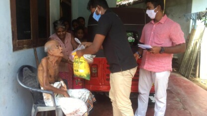 Forfulgte kristne og andre nødlidende på Sri Lankas er hårdt ramt af covid-19