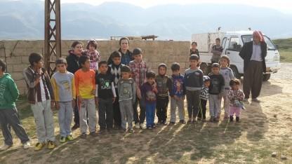 """Kurdere: """"Det eneste sted, du kan få hjælp, er hos de kristne"""""""