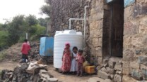 Regnvandsopsamlingsanlæg har reddet Belals ægteskab under borgerkrigen