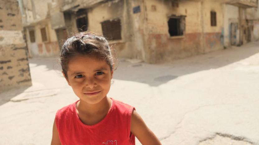 Sarah hjælper sårede i Aleppo