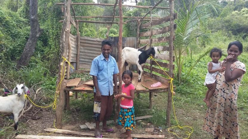 Anders gav hjælp til selvhjælp til fattig præst i Sri Lanka