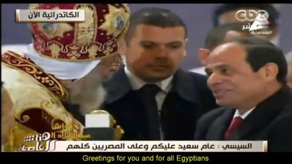 Egyptiske kristne fejrer jul i dag