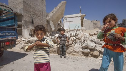 Antallet af fordrevne stiger kraftigt i Syrien