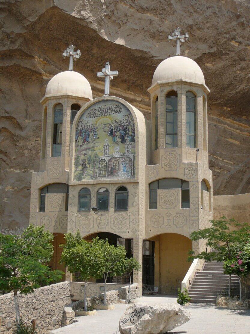 Indgang til amfiteater-kirken