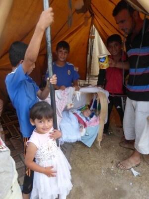 Irakiskeflygtningeiettelt