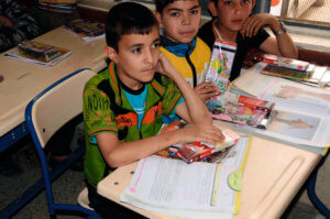 Syrien skolebørn1