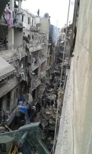 4a Krigsskadet Aleppo