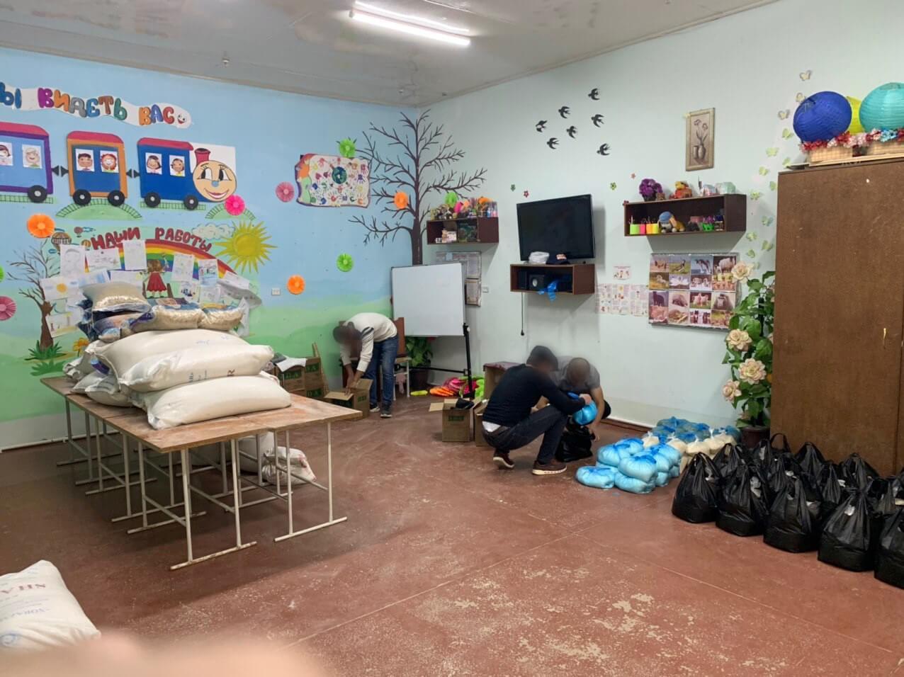 Maduddeling koordineres i Usbekistan