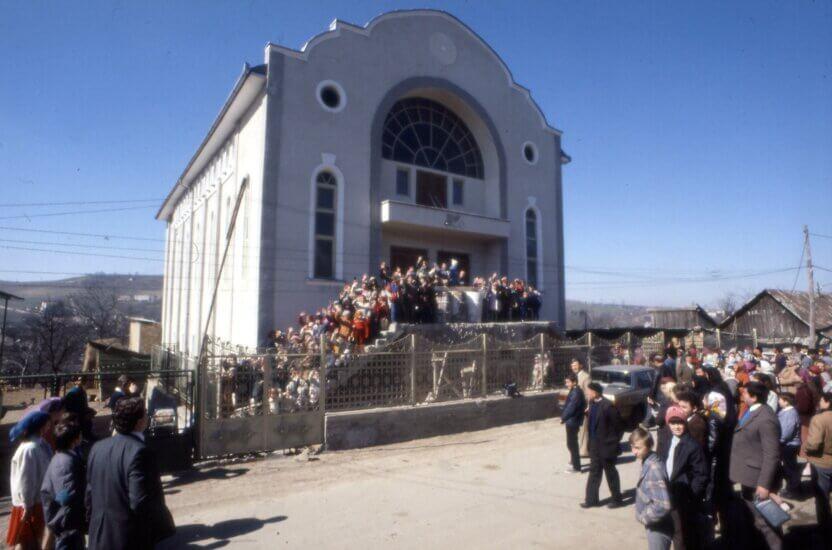Kirke i Zalau i Rumænien bygget med stor støtte fra Dansk Europamissions givere.