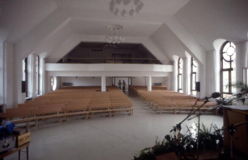 I Cieszyn i Polen blev der opført en kirke på ruinerne af et tidligere whiskey-destilleri med omfattende støtte fra Dansk Europamissions givere.
