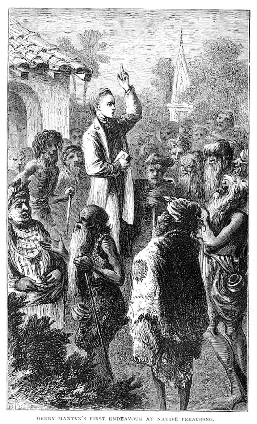 Henry Martin prædiker i Iran i begyndelsen af 1800-tallet.